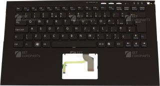 Palmrest/Clavier officiel (Anglais) - Sony - A1835705A