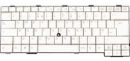Clavier officiel (Danois) - Fujitsu - FUJ:CP522867-XX