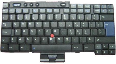 Clavier officiel (POLISH) - Lenovo - FRU39T0545