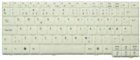 Clavier officiel (Grecque) - Acer - KB.TCY07.023