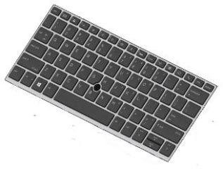 Clavier officiel (Anglais) - HP - L15500-031